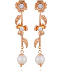 t tahari fall in love with florals linear earring