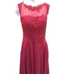 blevla elegant cap sleeves lace appliques evening party gown prom dresses bur...