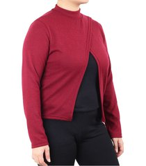 sweater bordó minari nicole plus size