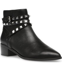 steve madden women's besto studded ankle booties