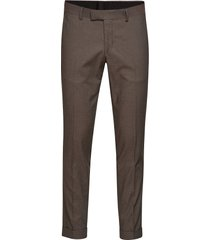 tilman kostuumbroek formele broek bruin tiger of sweden