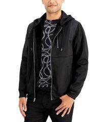 inc men's parade zip-front hoodie, created for macy's