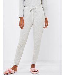 loft dotted pajama pants