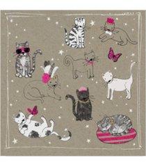 "hammond gower fancy pants cats iv canvas art - 20"" x 25"""