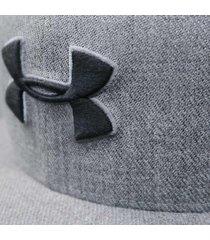 gorra under armour moda huddle snapback 2.0 hombre gris
