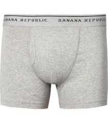 ropa interior boxer brief gris banana republic