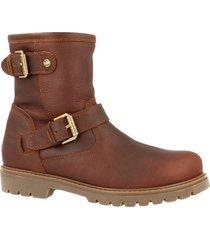 panama jack boots cognac