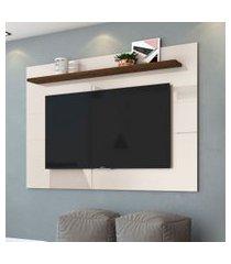 painel para tv 50 polegadas lorenzo off white savana