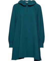 vini, 746 solid cady korte jurk groen stine goya
