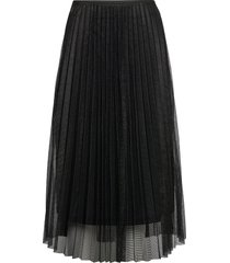 amy skirt knälång kjol svart becksöndergaard
