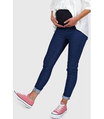 jeans azul yagmour mama confort