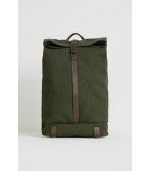 mochila lona arpoador - verde militar - u