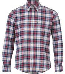 rutmönstrad skjorta