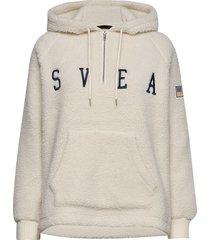 ophelia pile hood hoodie trui crème svea