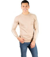 sweater beige pato pampa base liso esquel