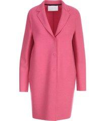 harris wharf london women cocoon coat pressed wool