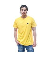 camiseta vitoriano classic - amarelo