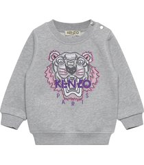 tiger jg b2 bb sweat-shirt trui grijs kenzo
