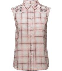 howdy sleeveless shirt blouse mouwloos multi/patroon odd molly