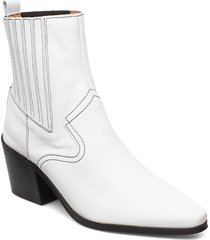stb-georgia chelsea l shoes boots ankle boots ankle boot - heel vit shoe the bear