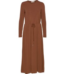 nabaiw dress jurk knielengte bruin inwear