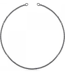 cadena hold de plata dark silvermulticolor