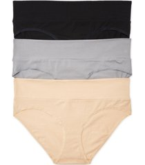 motherhood maternity plus size 3-pk. fold-over panties