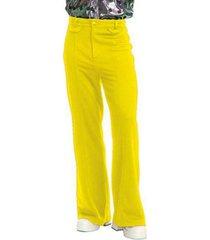buyseasons men's disco pants yellow