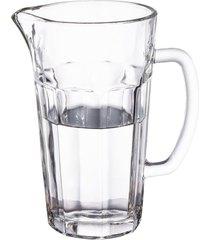 jarra dover em vidro 1,2l transparente - full fit - incolor - dafiti