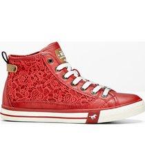 sneaker mustang (rosso) - mustang