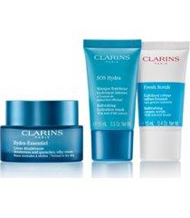 clarins 3-pc. hydra-essentiel starter set