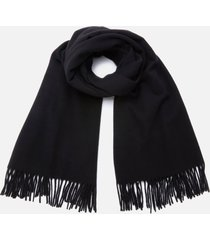acne studios men's canada new scarf - black