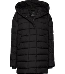 carin wns jkt gevoerde lange jas zwart didriksons