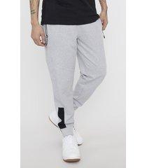 pantalón de buzo jogger franjas gris - hombre corona