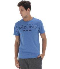 camiseta mizuno kori - masculina - azul/azul esc