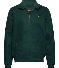 harrington jacket bomberjacka jacka grön lyle & scott
