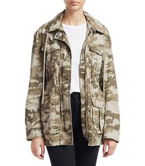 stretch camo jacket
