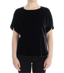 fluweel met korte blouse
