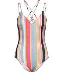 pw sunset swim suit - mm baddräkt badkläder blå o'neill