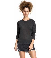 shorts saia live hydro preto - preto - feminino - dafiti
