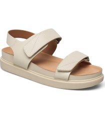 erin shoes summer shoes flat sandals creme vagabond