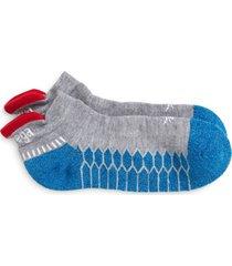 men's balega silver socks, size large - grey