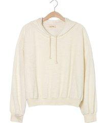 american vintage okibay hoodie sweat wit