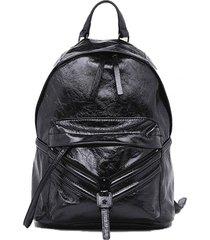 cartera zipper le zipper backpack negro diesel