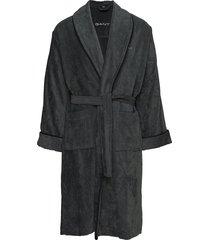 premium velour robe morgonrock badrock gant