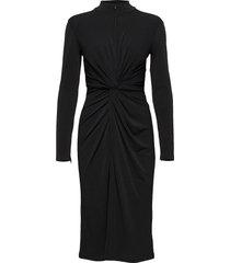 dress jurk knielengte zwart ilse jacobsen