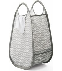 neatfreak pop-up fabric laundry hamper/tote with everfresh odor control