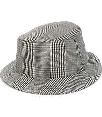 thom browne cavalry twill bucket hat - black