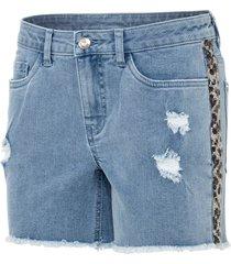 shorts con strass (blu) - bodyflirt