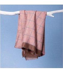lenço emile cor: rosa - tamanho: único